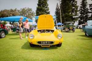 Concours d'Elegance car show in Chico CA