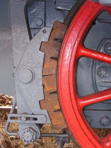 clamp brake used by trains